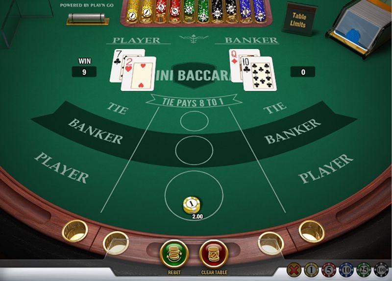 Правила игры баккара