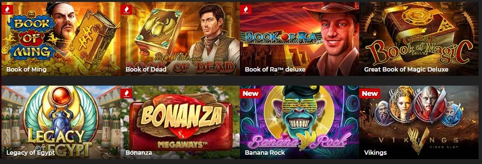 Слоты в казино Enefgy Casino